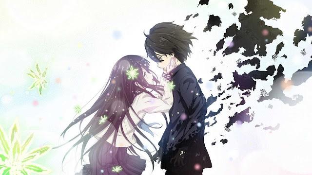 couple wallpaper anime