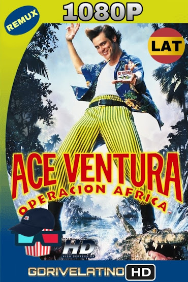 Ace Ventura 2, Un Loco en África (1995) BDRemux 1080p Latino-Ingles MKV