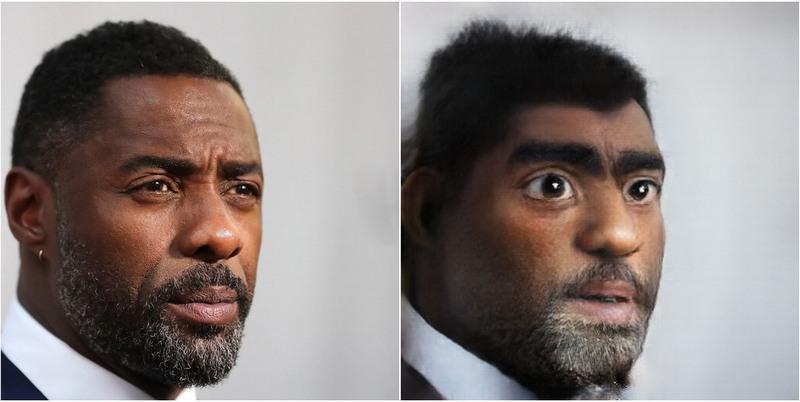 Idris Elba Transform into Disney characters using neural networks