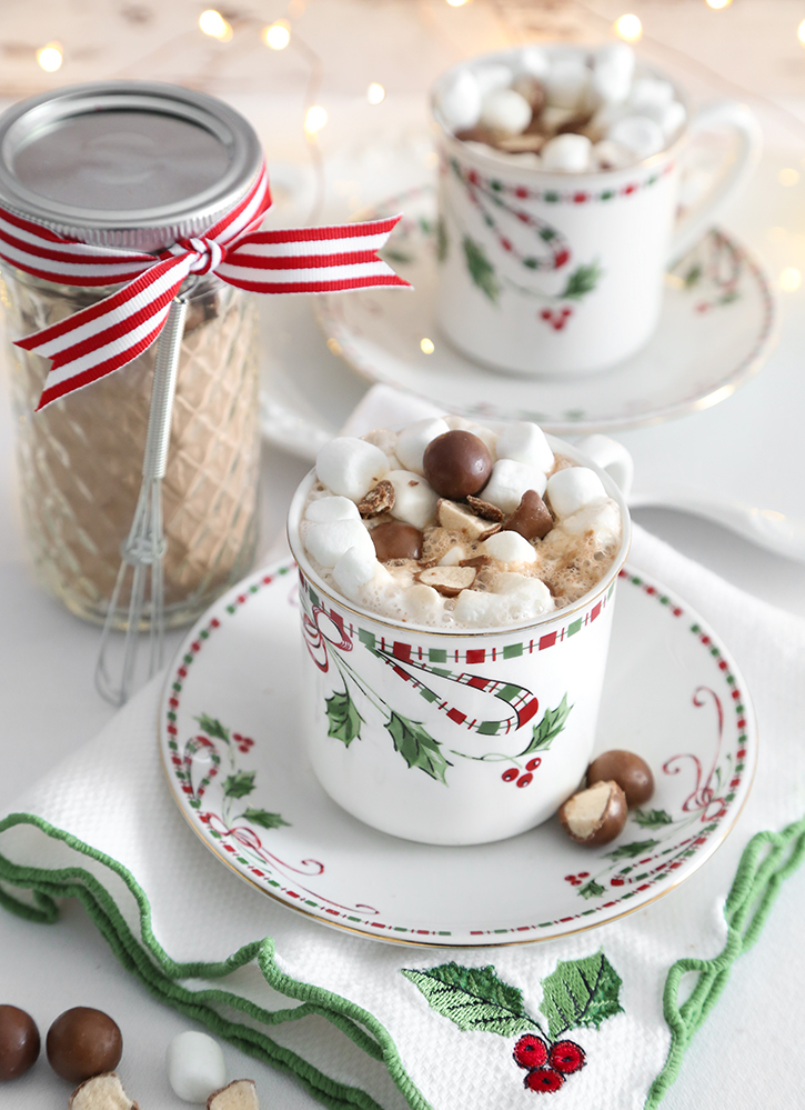 Instant Malted Hot Cocoa Mix Sprinkle Bakes