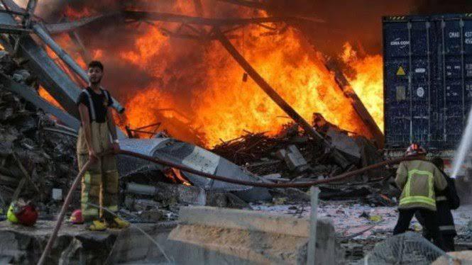Perdana Menteri Kutip Alquran Saat Lebanon Diguncang Ledakan Besar