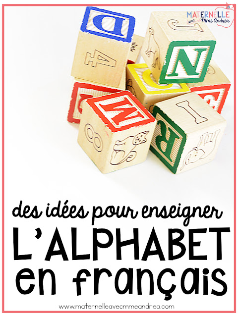 Looking for ways to amp up your alphabet routine? This blog post is full of all kinds of different ideas for helping your French kindergarten students learn their letters and sounds!