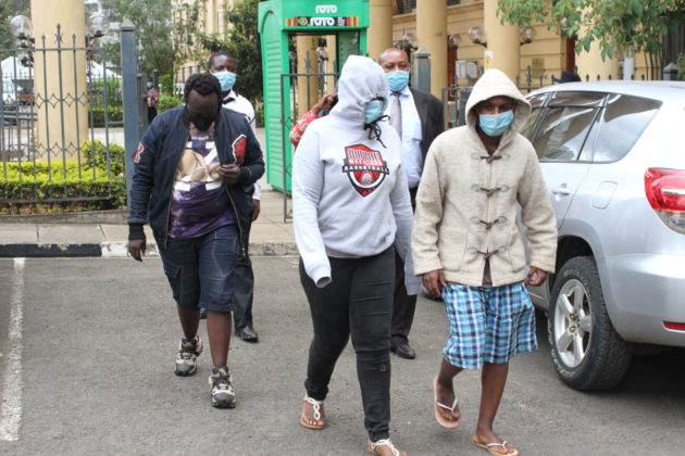 Millicent Kithinji photo and four others detained