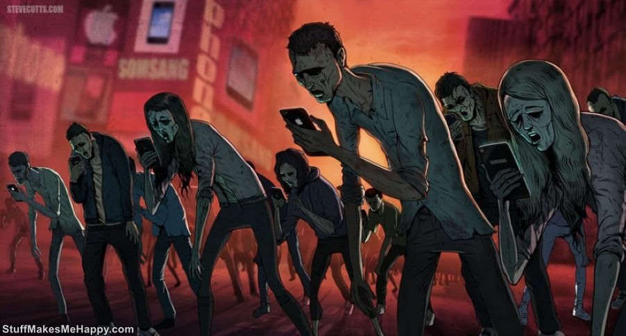 Creepy Illustrations of Modern Society and Its Problems by Steve Cutts
