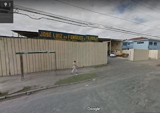 Provável local da primeira garagem da Nápoles , na Rua da Regeneração