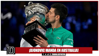 ¡DJOKOVIC MANDA EN AUSTRALIA!