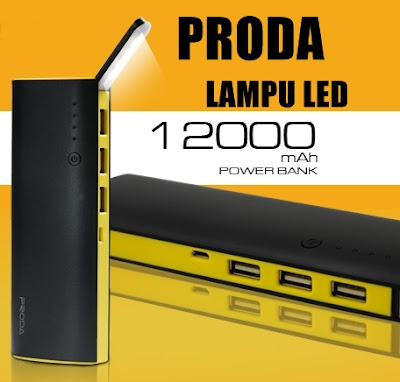 POWER BANK PRODA LED