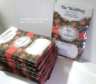 cetak undangan seribu rupiah murah