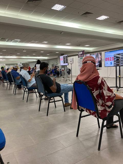 Pengalaman Ambil 1st Dose Vaccine AstraZeneca di PPUM