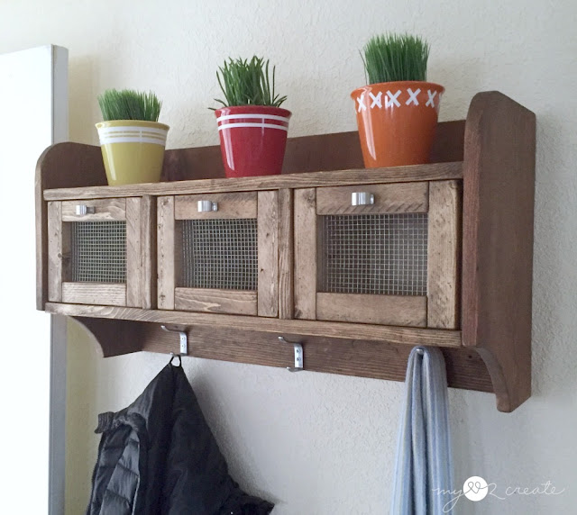 Hanging Storage Shelf, MyLove2Create