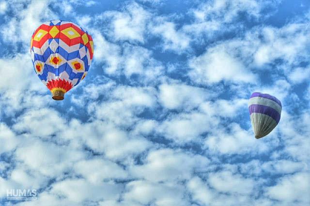 Festival Balon Udara Trenggalek Berlangsung Meriah