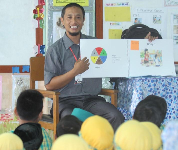 Gema Buku Bacaan Berjenjang Sambut Persiapan GIM di Aceh Utara