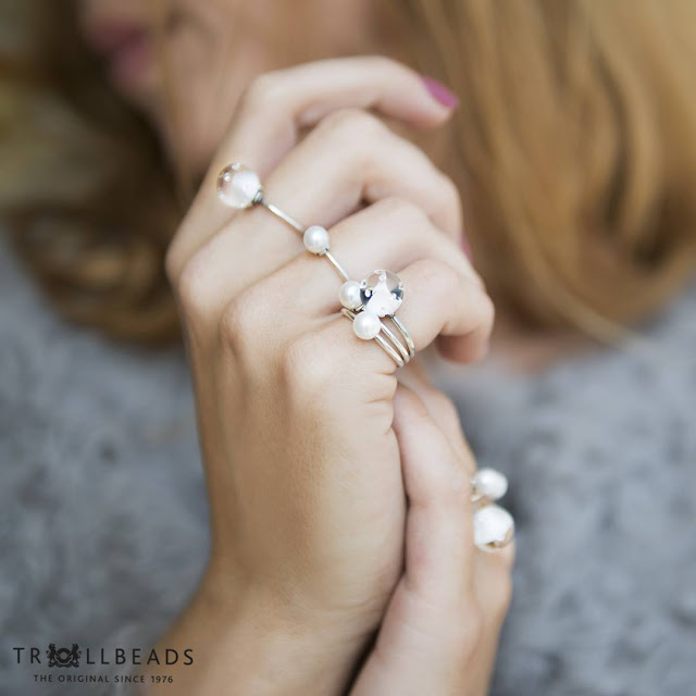 Simple rings from Trollbeads collection