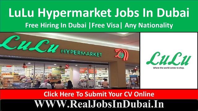 LuLu Hypermarket Hiring Staff In Dubai  UAE 2021