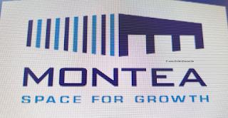 aandeel Montea logo 2021
