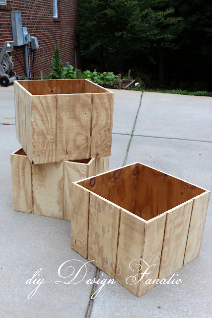 deck planter, Kreg Jig, planter boxes, wood project, Building project,  diyDesignFanatic.com