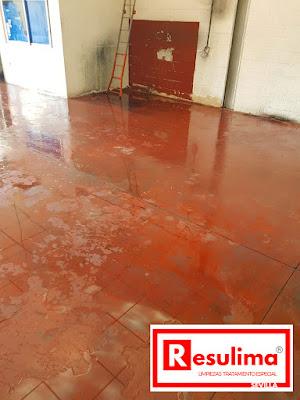Vaciado y limpieza industrial en Sevilla. Después