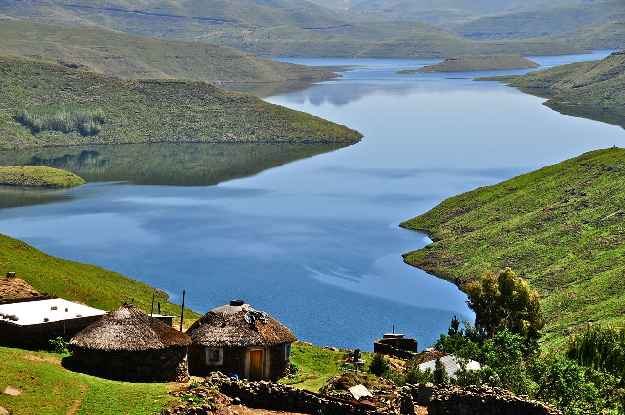 Lesotho: the capital, population and attractions