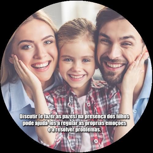 Discutir (e fazer as pazes) na presença dos filhos pode ajudá-los a regular as próprias emoções e a resolver problemas.