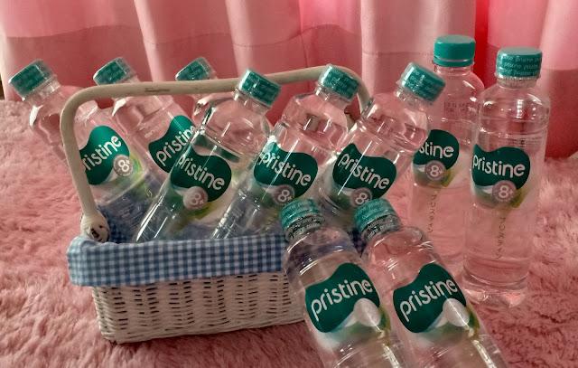 Air mineral Pristine merupakan air mineral yang diperoleh dari daerah pegunungan di kota Bogor yang masih terjaga kualitasnya dan diolah dengan teknologi ionisasi dari Jepang dan menjadikan air mineral Pristine 8+ sebagai air mineral alkaline yang dapat menyeimbangkan hidup kita.