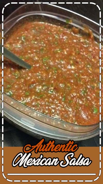 This authentic salsa recipe will make your next large gathering a hit and leave people wanting more. Whether throwing a party or simply making some salsa for your own enjoyment, this recipe combines the perfect blend of spices and herbs for a wonderful eating experience. The versasility of this salsa is amazing! Try it on chips, eggs, grilled chicken or steak! This recipe is so simple, you dont need to roast peppers or cook the onion, throw it all in the blender and serve