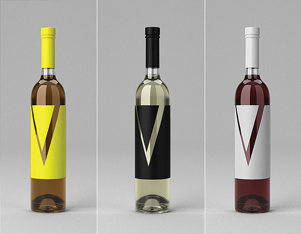 Wine Bottle Mock-Up PSD