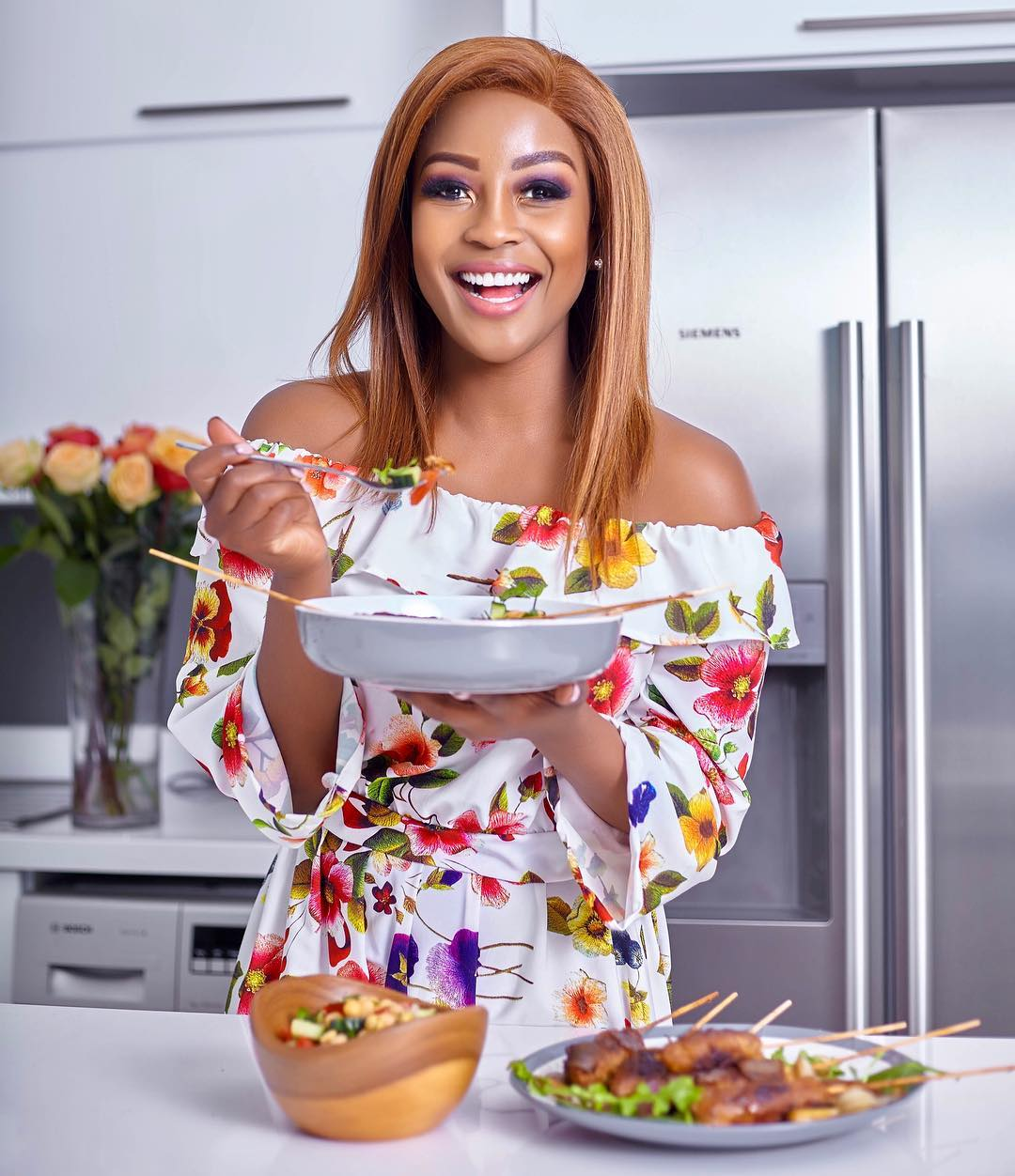 Lorna Maseko launches cooking channel on Youtube