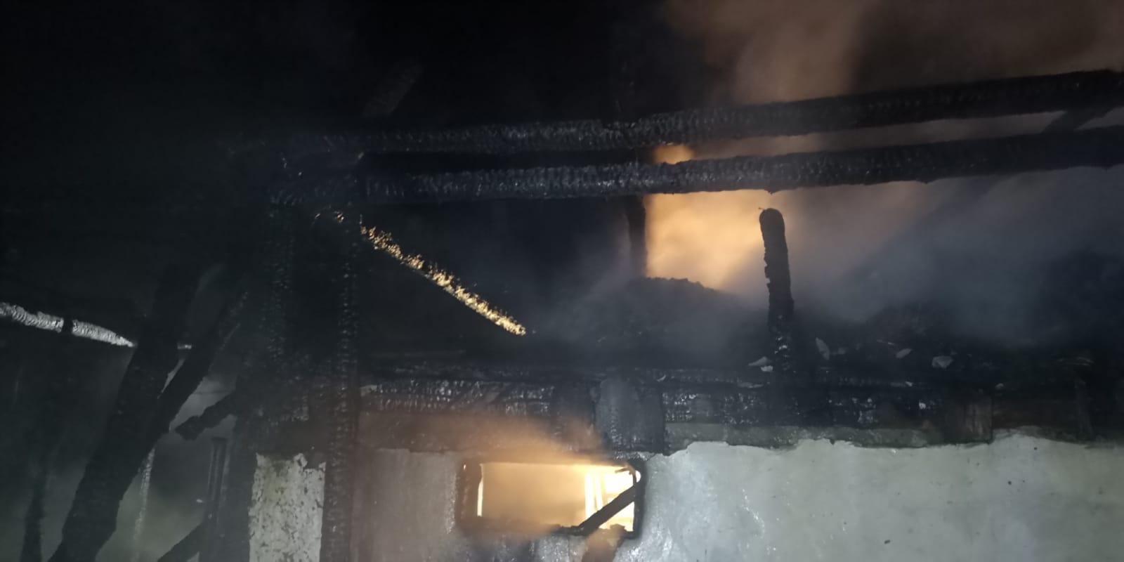 Incendiu Frătăuții Vechi, 12 iunie 2020