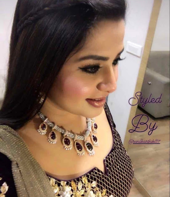 Sangeetha Diamond Tourmaline Choker