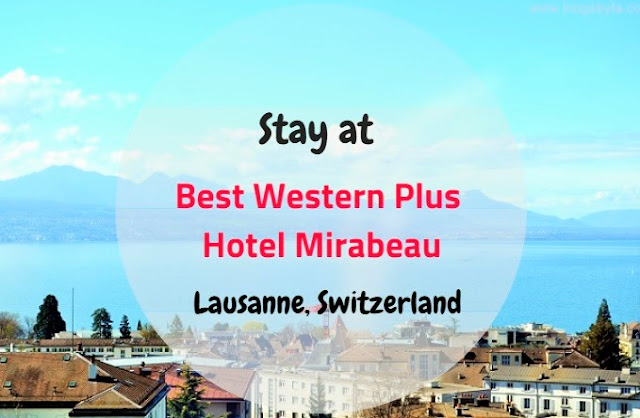 Best Western Plus Hotel Mirabeau - Lausanne, Switzerland