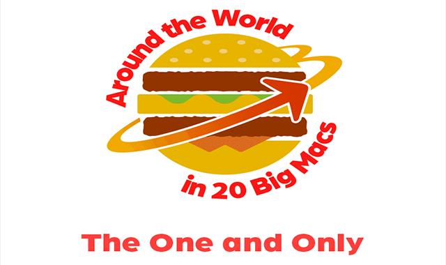 Around the World in 20 Big Macs #infographic