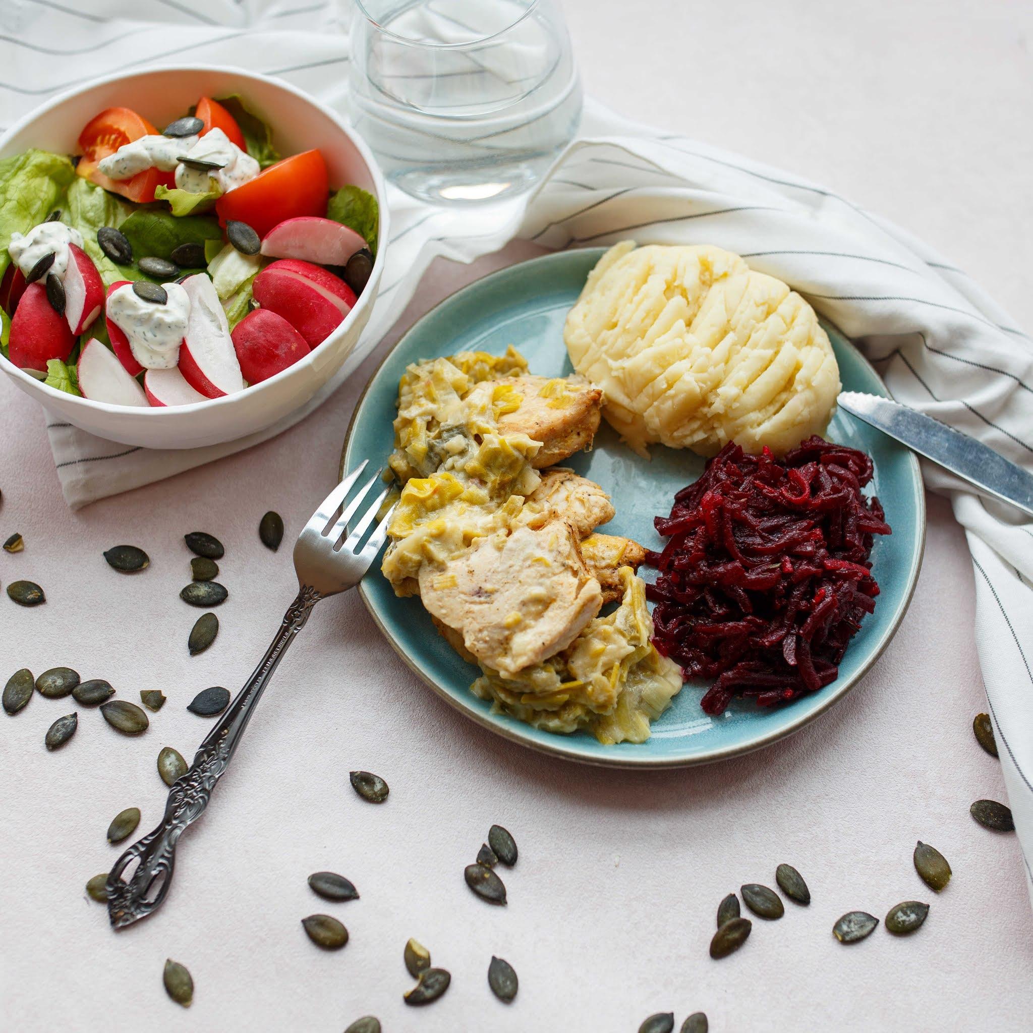 Catering dietetyczny zimą