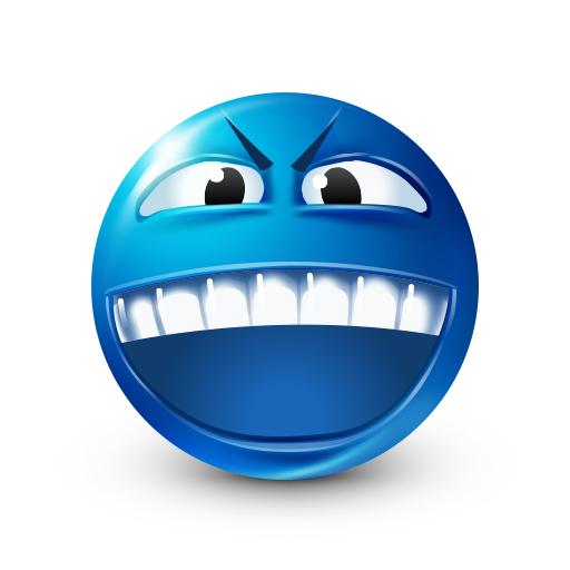 Angry Teeth Smiley