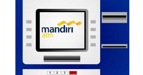 Cara Bayar Tiket Kereta Api Via ATM Mandiri (Disertai