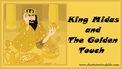 King Midas And The Golden Touch - Moral Short Story for Kids