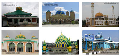 Jual Kubah Masjid Stainless Steel