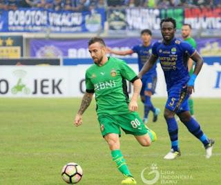 Persib Bandung vs Bhayangkara FC 1-1