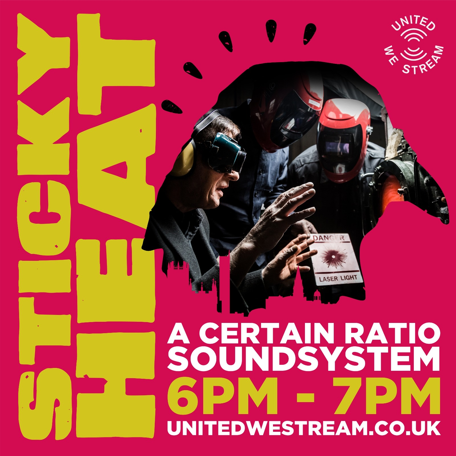 16 May 2020, Sticky Heat x United We Stream, ACR Soundsystem - ACR Gigography