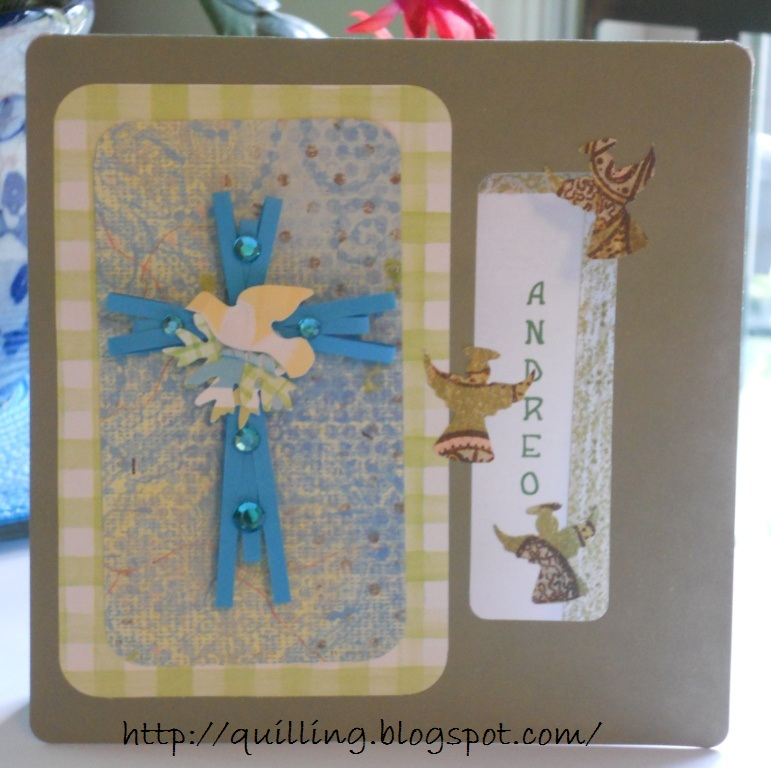 free quilled cross tutorial