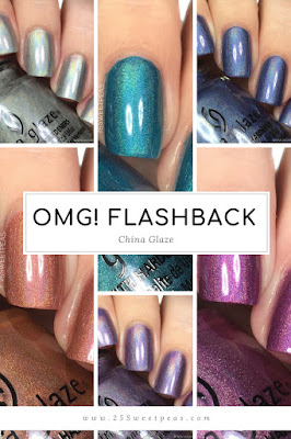 China Glaze OMG! Flashback Collection