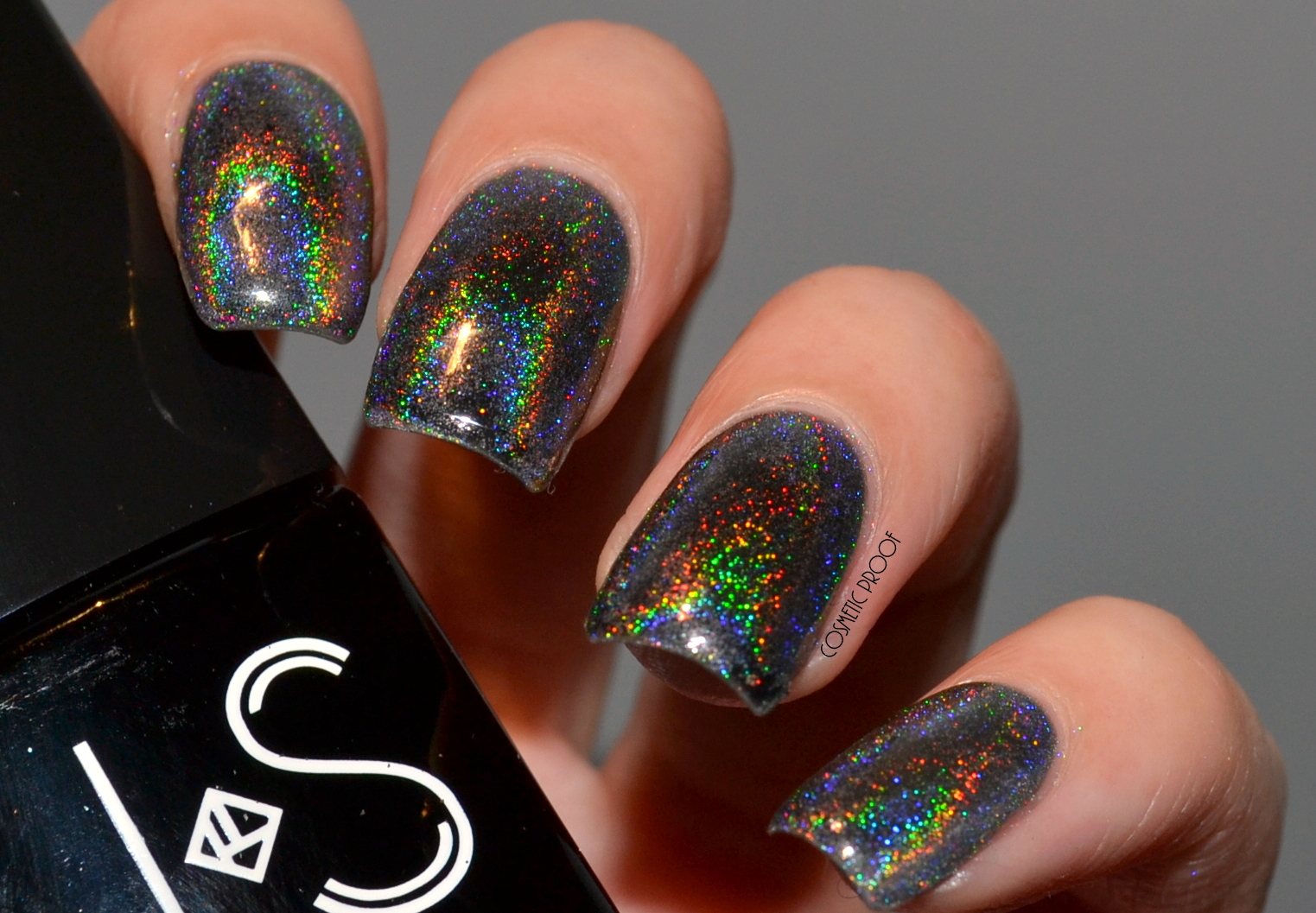 NAILS | Born Pretty Holographic Rainbow Powder Review | Cosmetic ...