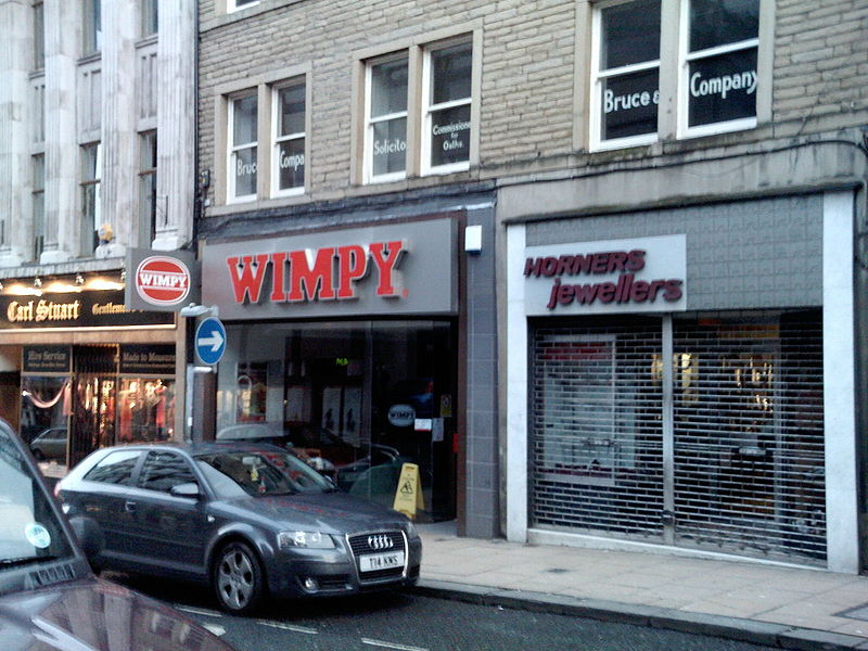 Wimpy Restaurant Near Me