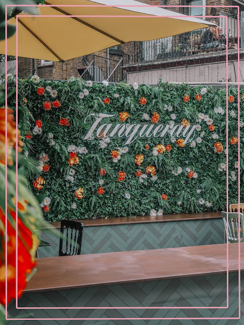 Tanqueray Flower Wall Vinegar Yard London Bridge