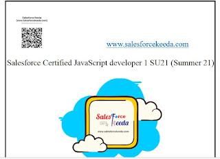 Salesforce Certified JavaScript developer 1 SU21 (Summer 21) Dumps Sample Questions