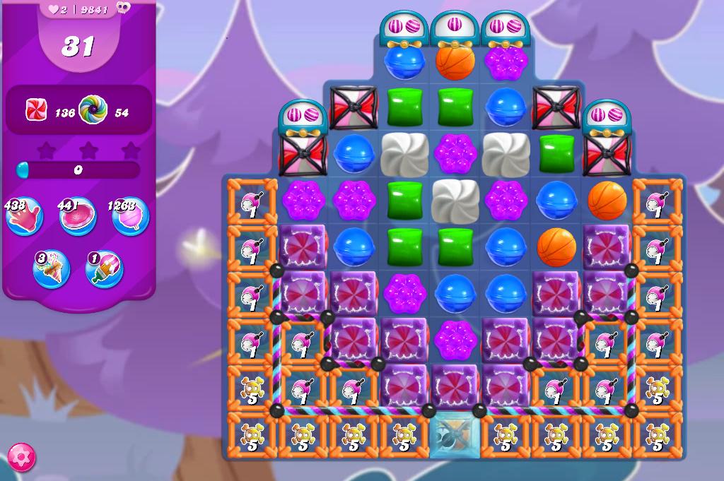 Candy Crush Saga level 9841