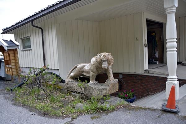 tiger skulptur