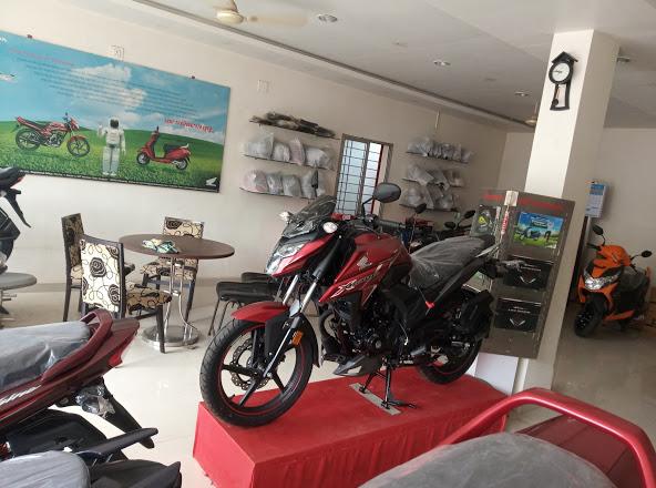Shree Krishna Honda showroom at Kuchinda