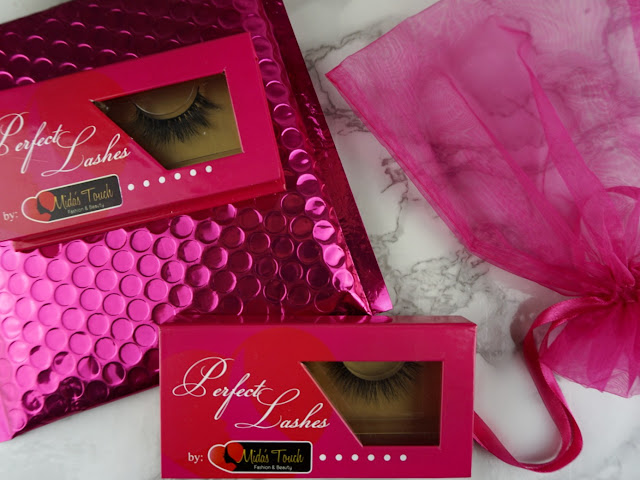 Model D006 and DML002 mink Lashes wispy by Midas Touch