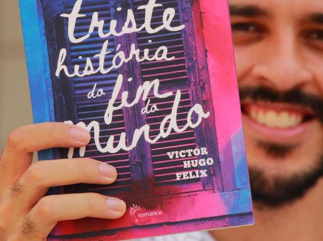 """Escritor supera ideação suicida e lança """"Triste história do fim do mundo"""""""