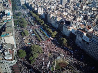 Más de un millón de argentinos contra el fmi